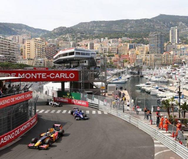 Theres No Better Way To Experience The Monaco Grand Prix Than Onboard A Yacht