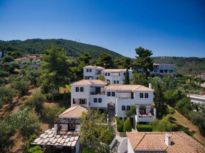 The Aegean Suites Hotel in Skiathos