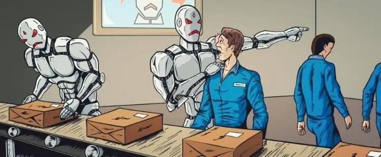 Image result for robot vs human work