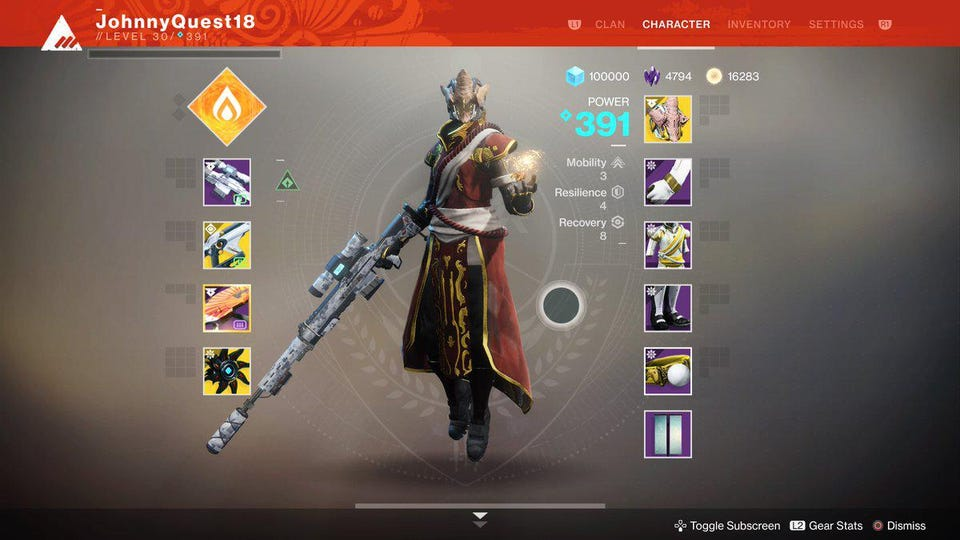 First Impressions Of Destiny 2 S Big Weapon Slot And Ttk Changes