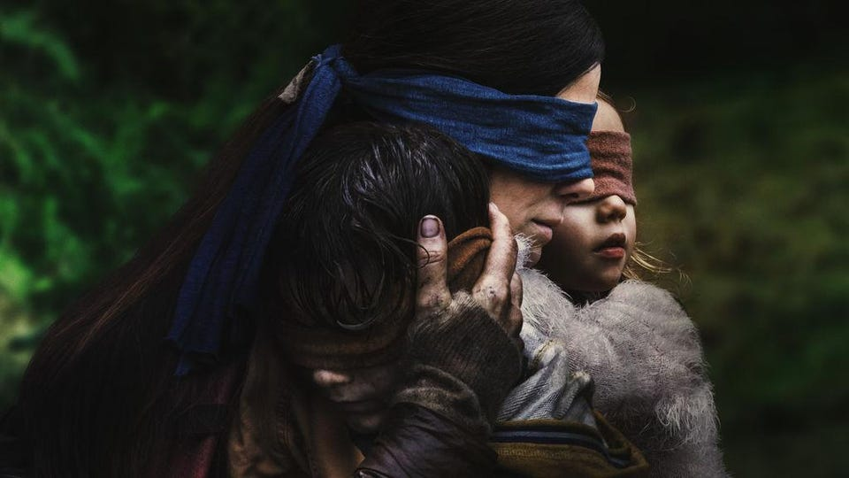 Bird Box - horror movie on Netflix