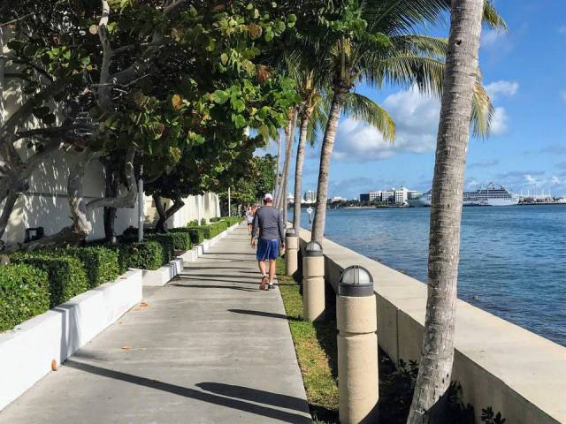 Brickell Key Bay Walk