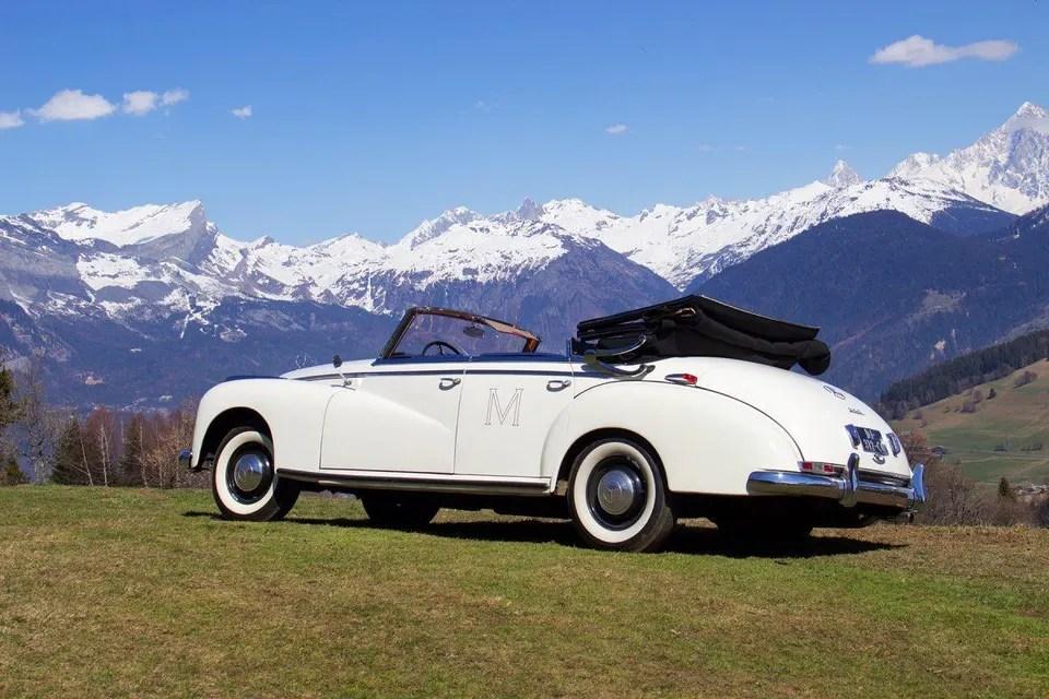 Le M de Megève - 1952 Mercedes 300D Cabriolet