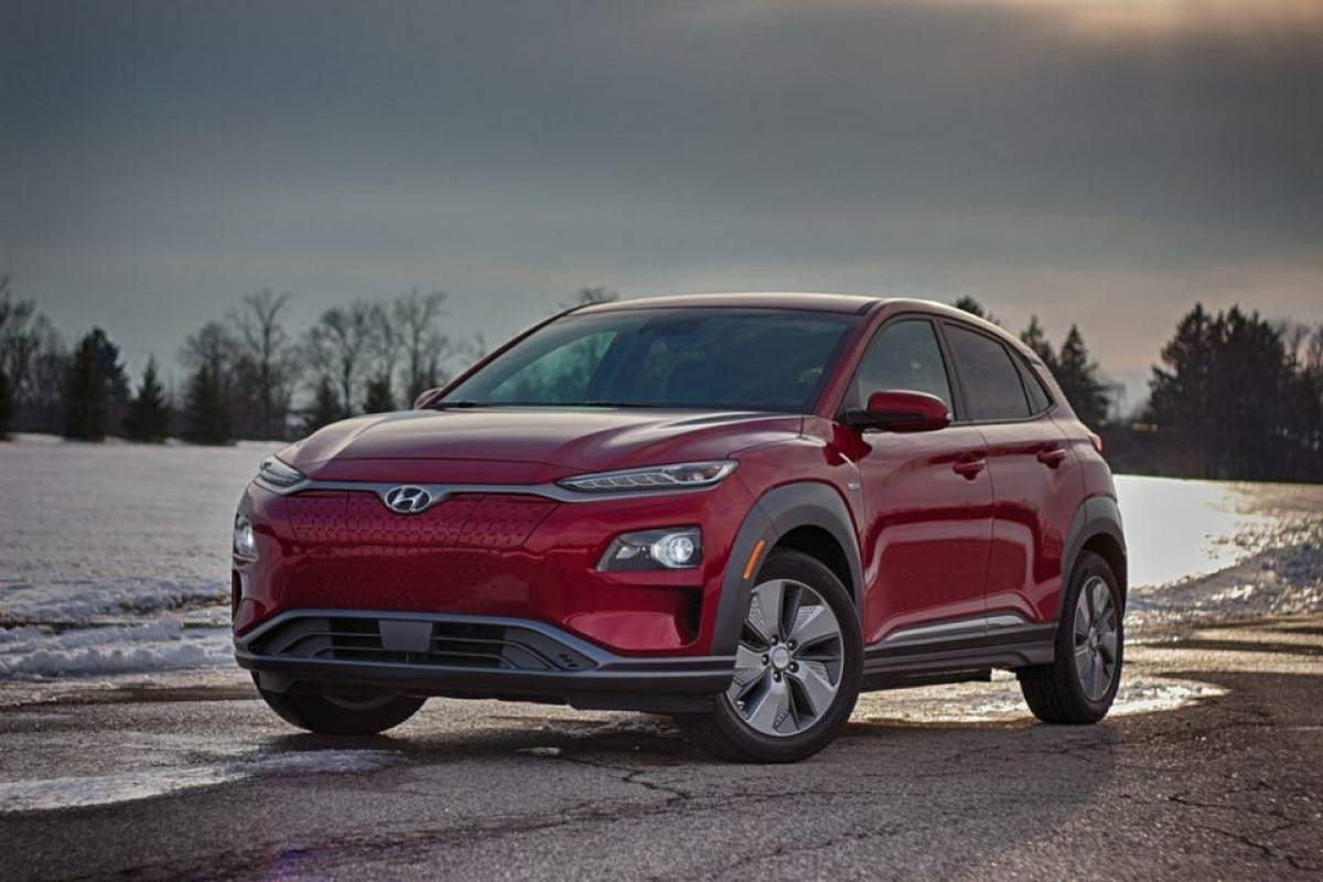 2019 Hyundai Kona Electric Even A Frigid Winter Cant Stop This Battery Crossover