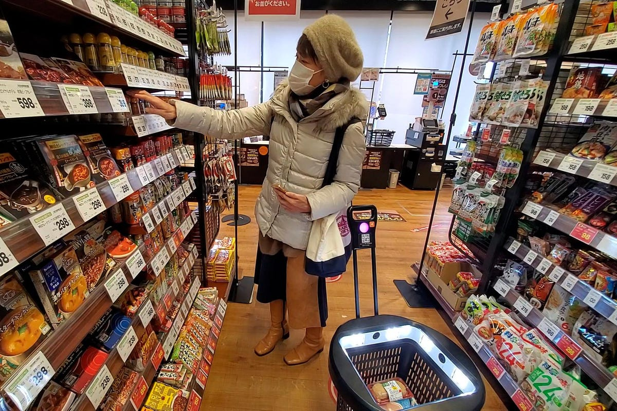 japan s checkout free grocery store is
