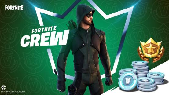 The green arrow comes to 'Fortnite', but there is also one catcher