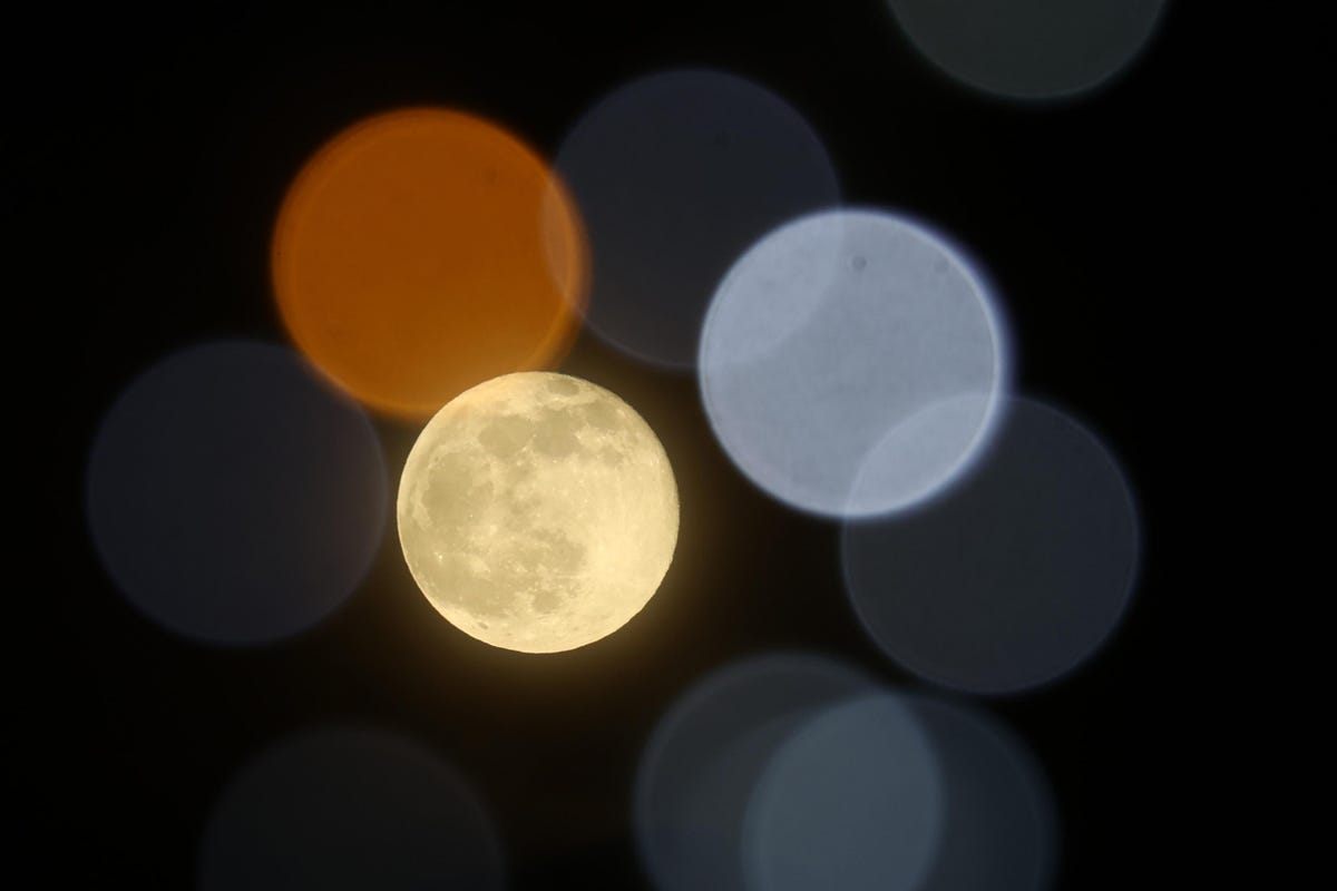 The full 'snow moon' this weekend will split North America in two and launch the 'Lantern Festival' in Asia
