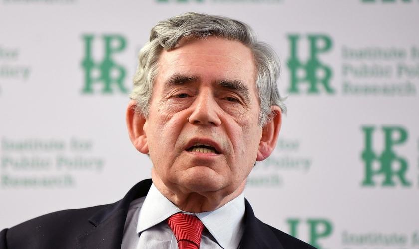 Gordon Brown foi primeiro-ministro do Reino Unido e líder do Partido Trabalhista entre 2007 e 2010. (Foto: Victoria Jones/PA)