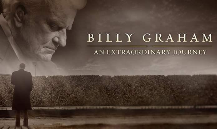 """Divulgação do filme """"Uma vida extraordinária"""", que conta a trajetória do evangelista Billy Graham. (Foto: Divulgação/AEBG)"""