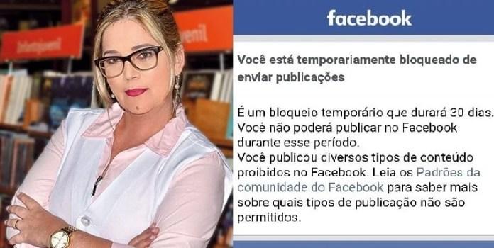 A psicóloga paranaense Marisa Lobo teve seu perfil no Facebook bloqueado, após denunciar a exposição do Santander Cultural, que promovia a pedofilia, zoofilia e ideologia de gênero. (Foto: Guiame)