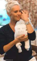 Diana Dumitrescu și băiețelul ei