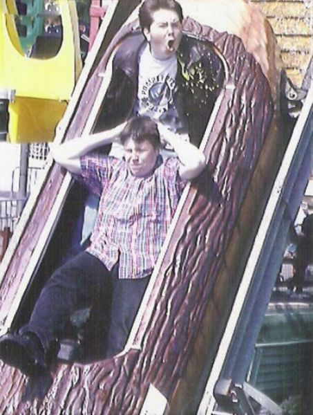 People From Roller Coasters ThumbPress 04 Winners and Losers from Roller Coasters (62 Pics)