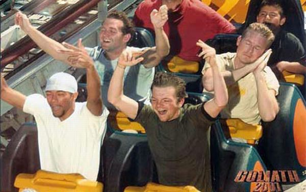 People From Roller Coasters ThumbPress 15 Winners and Losers from Roller Coasters (62 Pics)