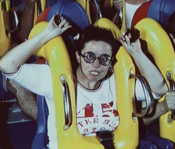 People From Roller Coasters ThumbPress 42 Winners and Losers from Roller Coasters (62 Pics)
