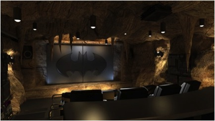 batcave 10 Incredible Home Theaters