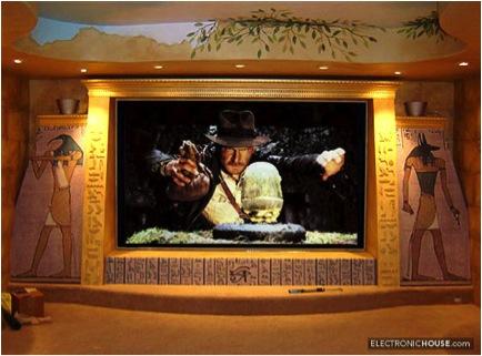 indiana jones 10 Incredible Home Theaters