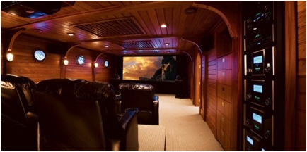 nautilus theater 10 Incredible Home Theaters