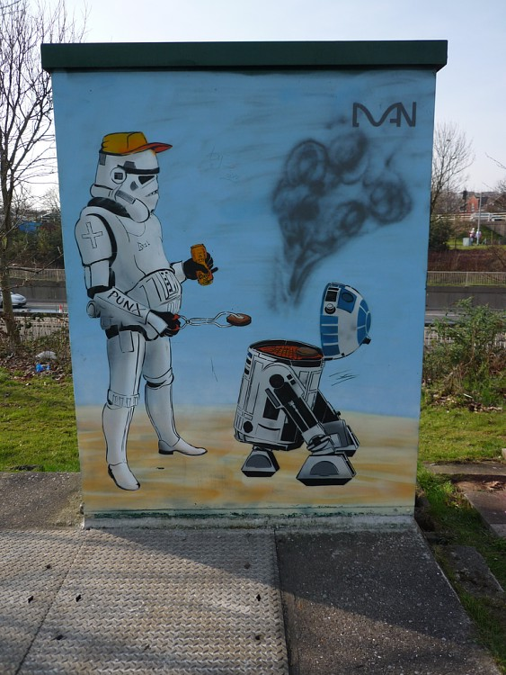 Geeky Graffiti 21 50 Geeky Street Art Pieces Brimming With Awesomeness