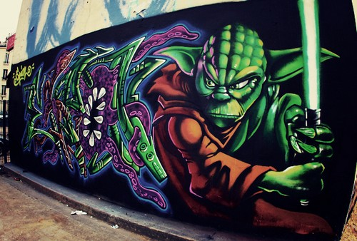 Geeky Graffiti 36 50 Geeky Street Art Pieces Brimming With Awesomeness