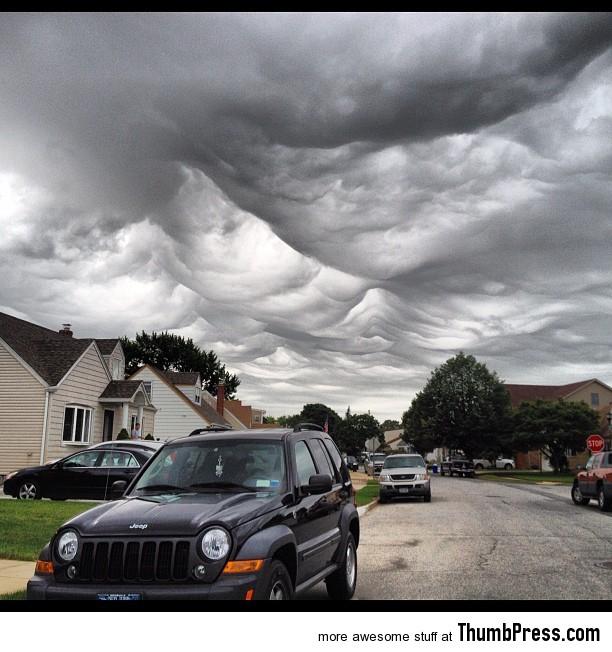 Amazing cloud formations 9 Amazing Nimbus: 25 Breathtaking Photographs of Beautiful Cloud Formation