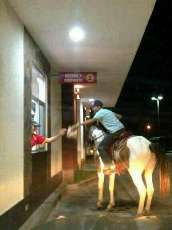 13. At a McDonald's in Panama. The Biggest WTF & Fails From McDonalds — 20 Pics