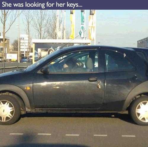 People Having a Bad Day — Keys