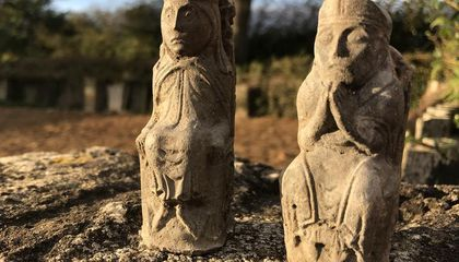 Why Were Two Victorian Chess Pieces Hidden in a Barn?