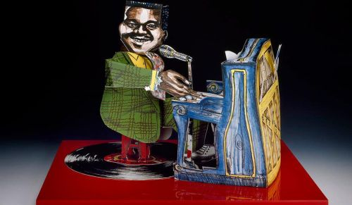 <em>Fats Domino</em> by Red Grooms, 1984