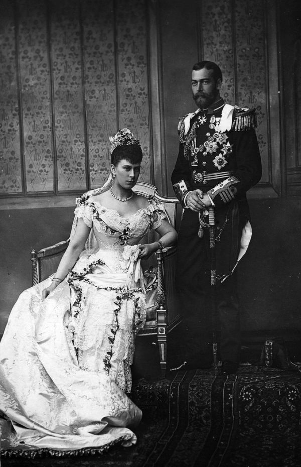 Mary of Teck and George V