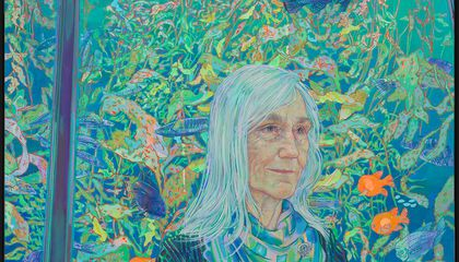 Fishes Were Julie Packard's Wishes for Her New Smithsonian Portrait