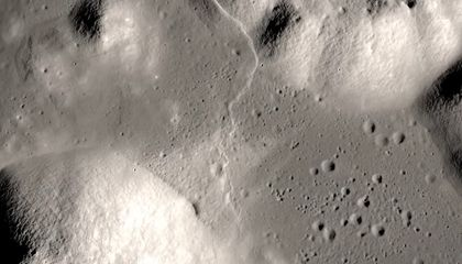 The Moon Is Slowly Shrinking, Which May Be Causing 'Moonquakes' on Its Surface