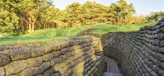 Four WWI Trenches and Tunnels You Can Explore