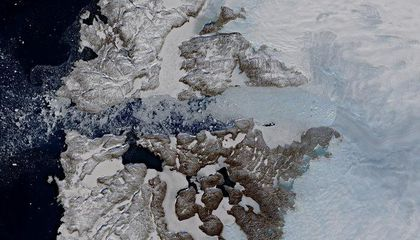 The Glacier That Produced the 'Titanic' Iceberg Has Suddenly Stopped Flowing