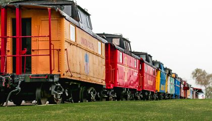 Celebrate the 150th Anniversary of the Transcontinental Railroad by Sleeping in a Train Car
