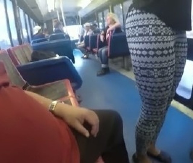 0630 Spoiled Bitch Is Fucking Upskirt In A Public Bus Right In Front Of Other