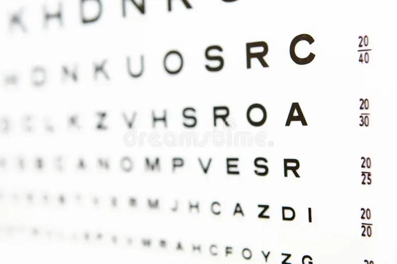 Eye Test Online 20 20 Vision Chart