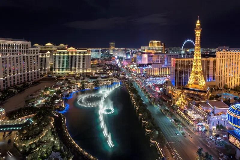 Vegas Las Flamingo Aerial