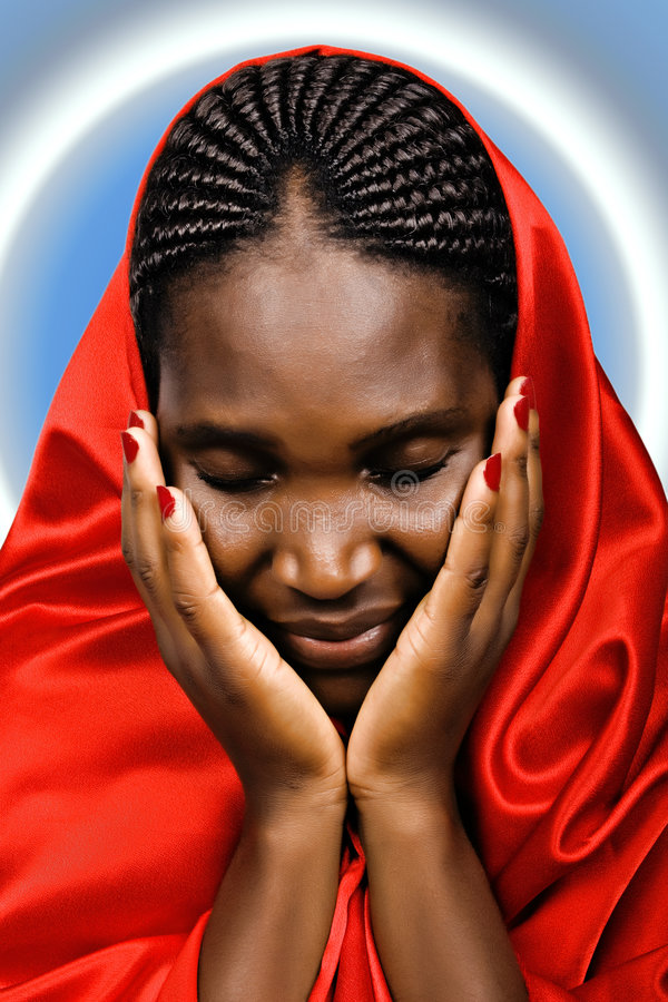 African Christian Woman Stock Photography Image 4081382