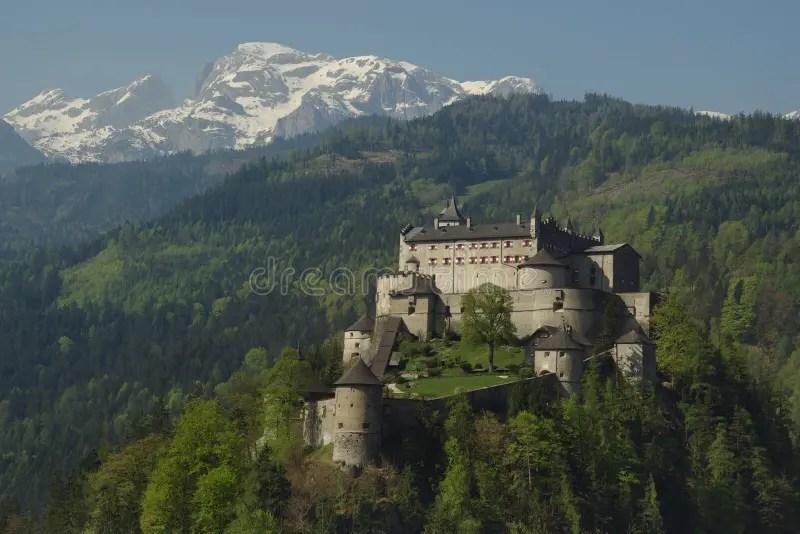 Schloss Castle Hohenwerfen Dare Eagles Where