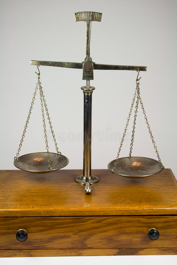 Old Fashioned Weight Scales