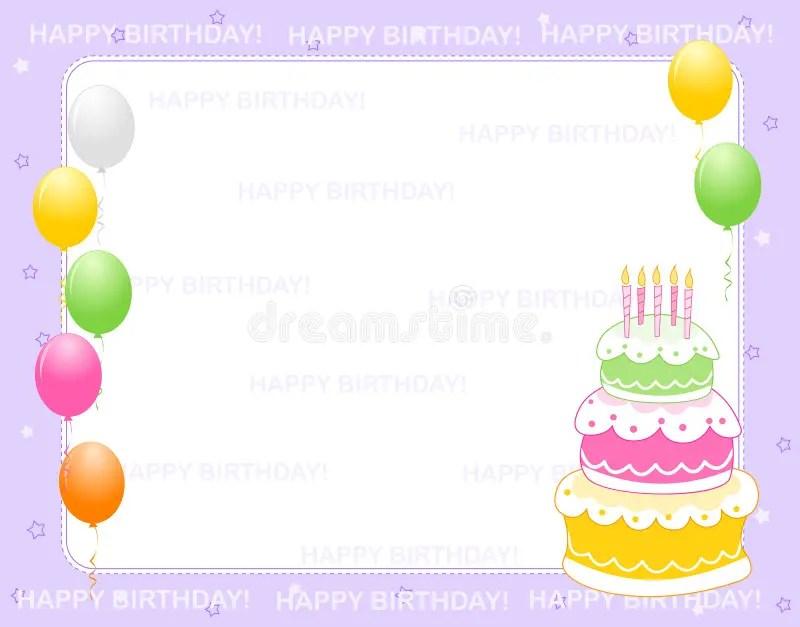 invitation d anniversaire illustration