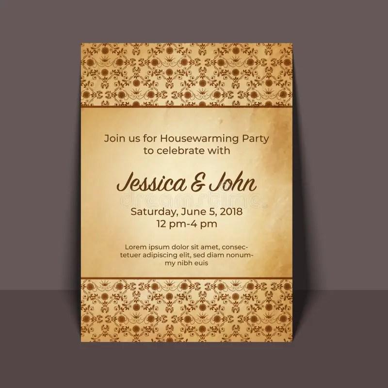 carte d invitation de partie de