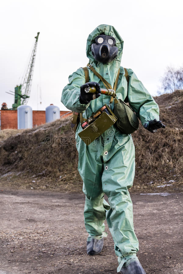 Chemical Protective Clothing Of Soviet Union Stock Photo