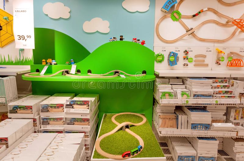 Ikea Store Kids Furniture Editorial Photography Image Of Colorful 154414927