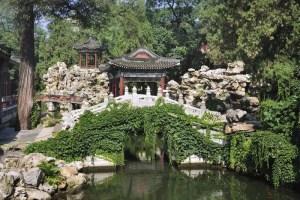 China Garten, Beihai Park, Peking Stockbild   Bild von ...