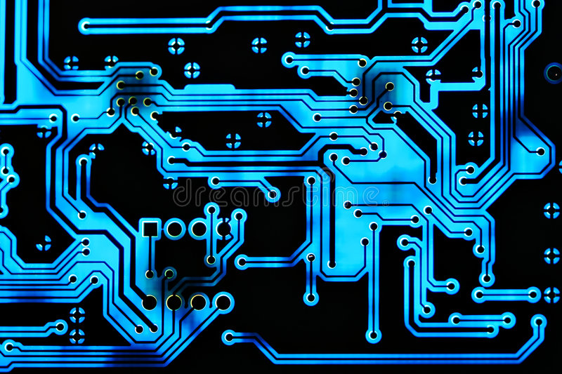 Circuit Board Background Stock Photo. Image Of Engineer