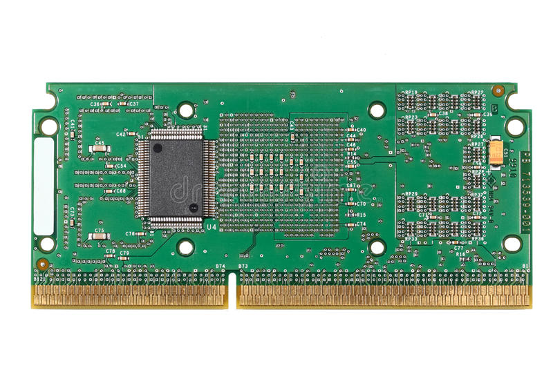 Circuit Board CPU Royalty Free Stock Images