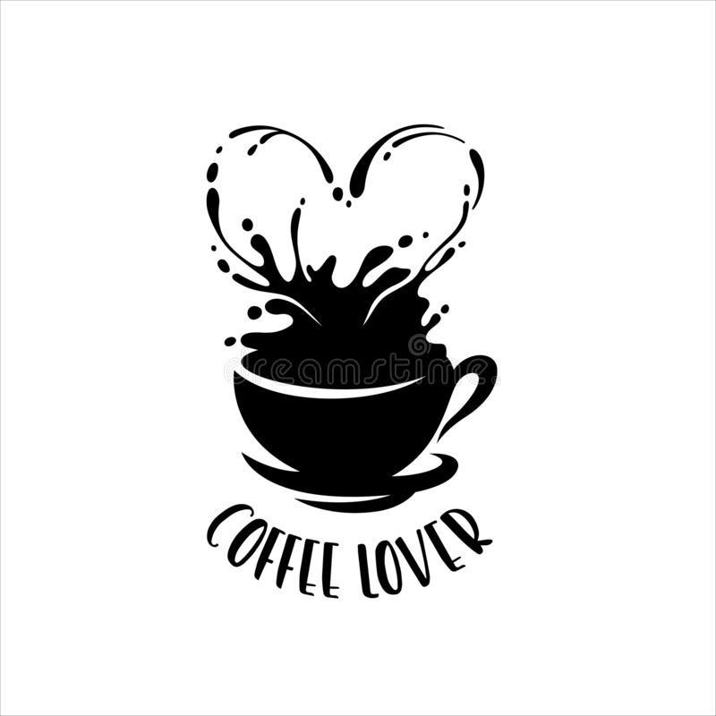 Download Coffee Lover Vector Cafe Theme Stock Illustration ...
