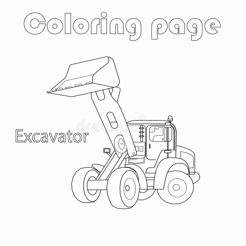 Coloring Excavator Stock Illustrations 330 Coloring Excavator Stock Illustrations Vectors Clipart Dreamstime