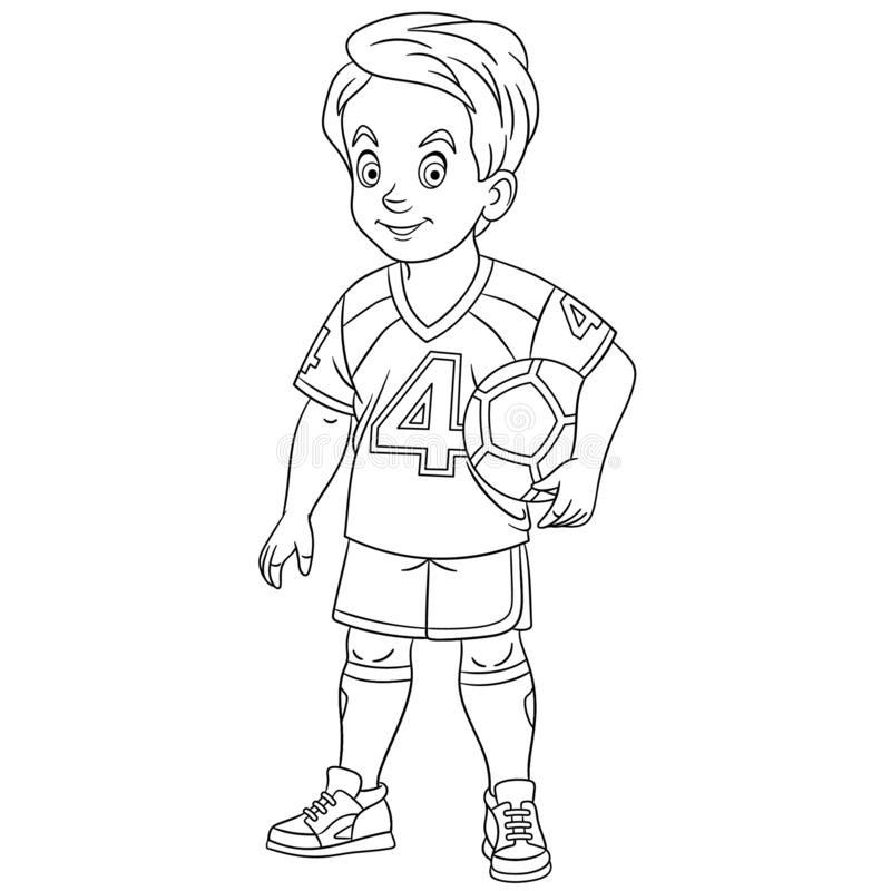 Coloring Football Stock Illustrations 707 Coloring Football Stock Illustrations Vectors Clipart Dreamstime